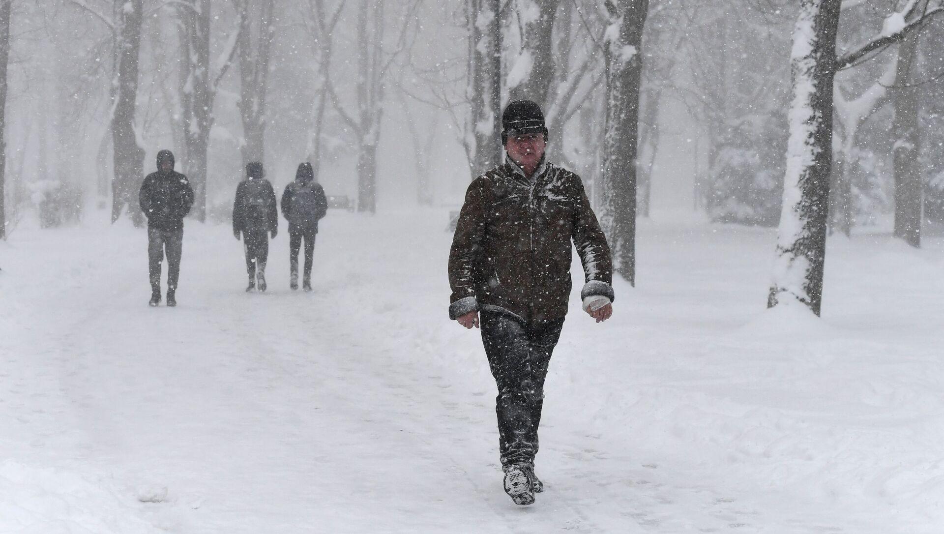 La neve in Crimea - Sputnik Italia, 1920, 21.02.2021