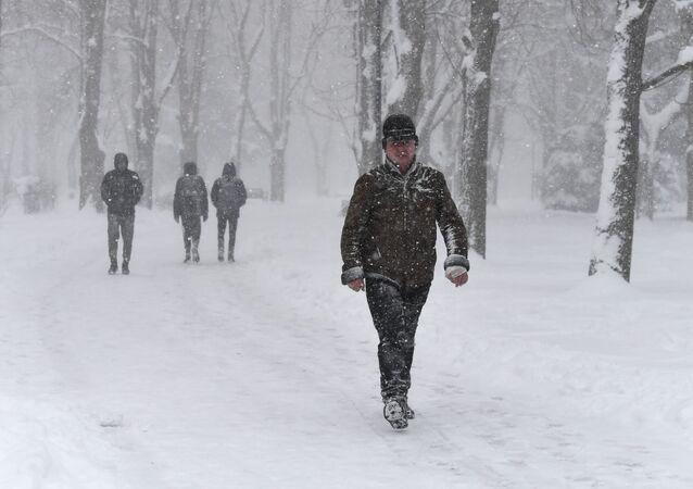 La neve in Crimea