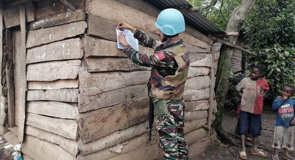 Militari di MONUSCO, la missione dell'Organizzazione delle Nazioni Unite per la stabilizzazione nella Repubblica Democratica del Congo