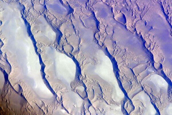 Vista sul deserto Dasht-e Lut, Iran.  - Sputnik Italia