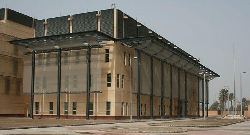 Ambasciata Usa a Baghdad (foto d'archivio)