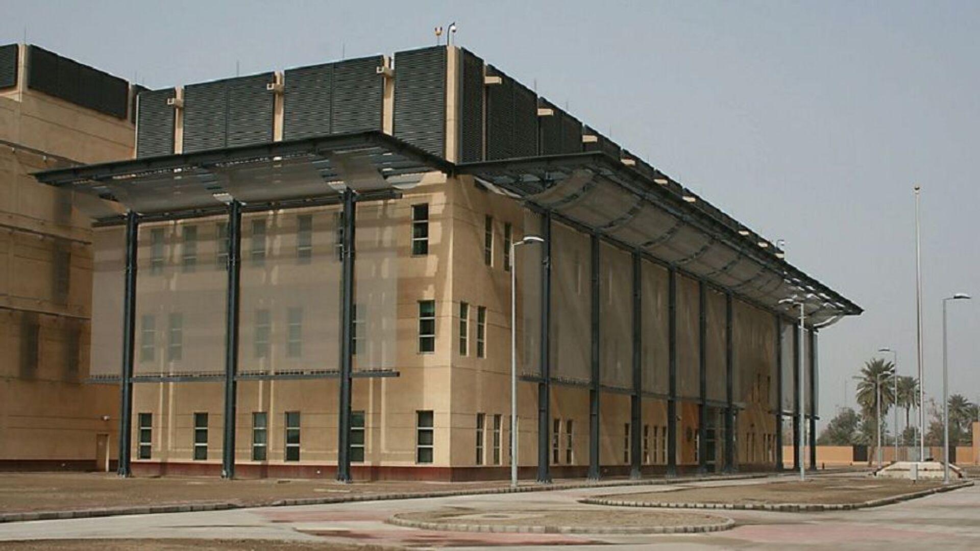 The new Embassy of the United States in Baghdad, Iraq - Sputnik Italia, 1920, 08.07.2021