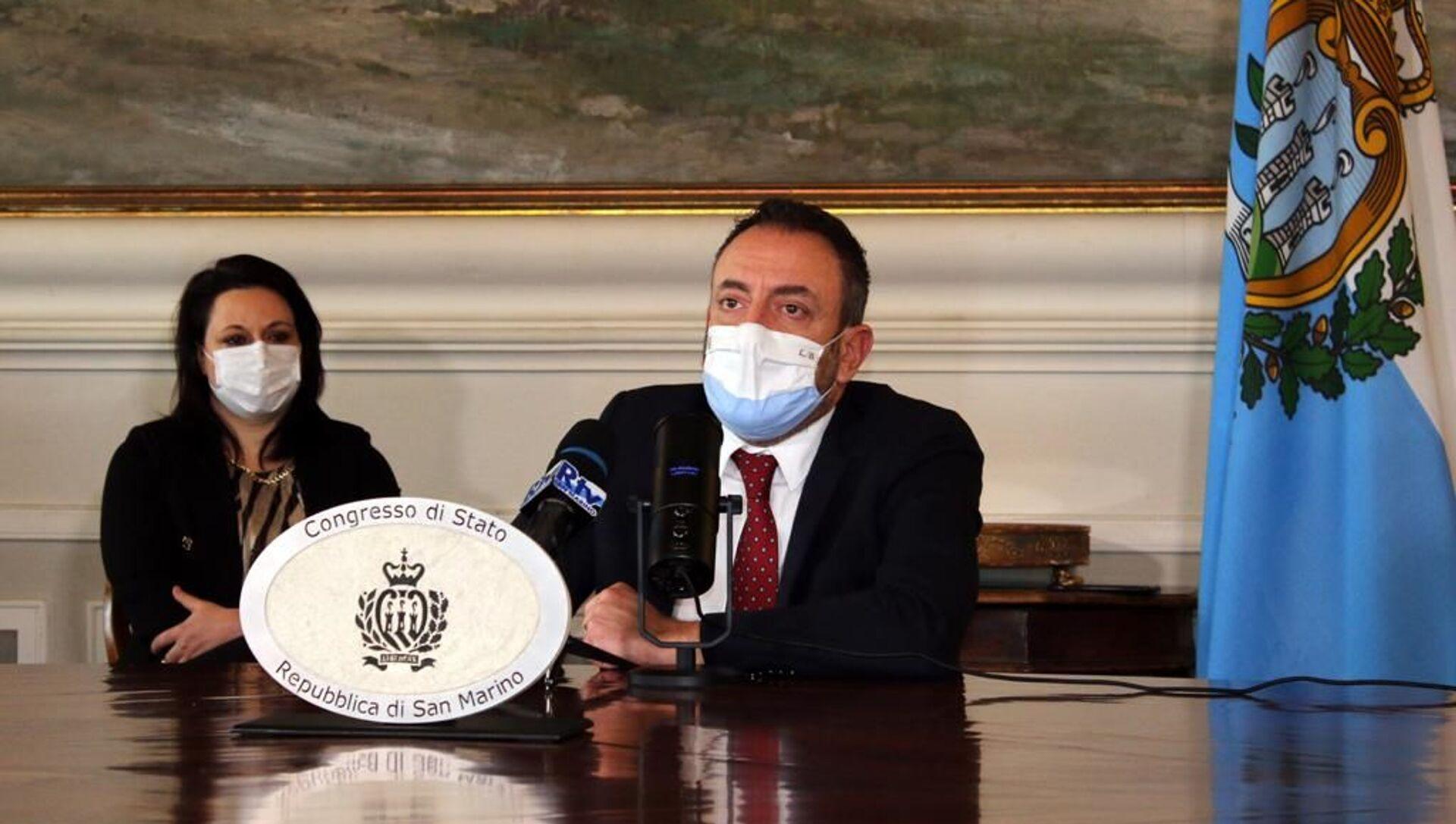"""Esclusiva, Beccari (San Marino): """"Battaglia contro la pandemia fuori dalla geopolitica"""" - Sputnik Italia, 1920, 22.02.2021"""
