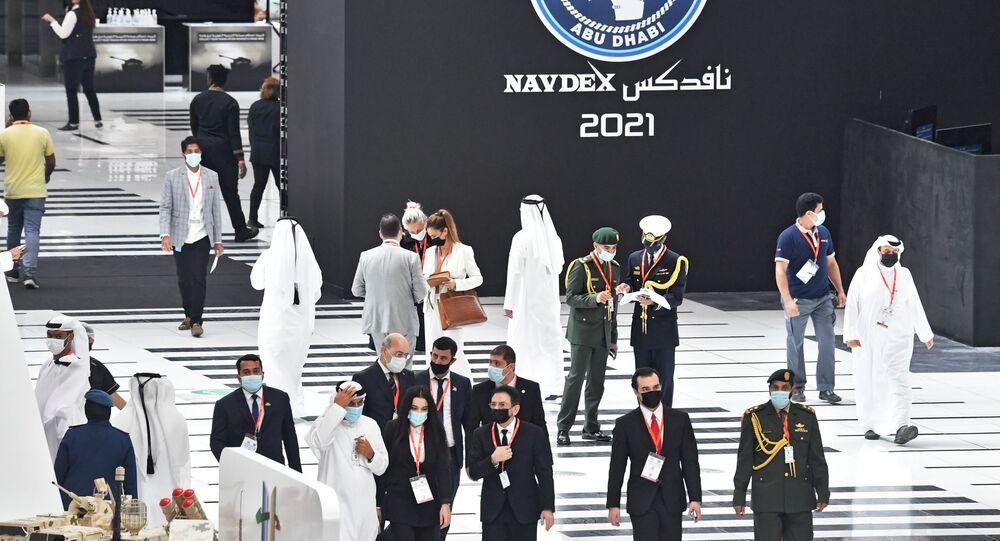 Fiera di armi e industria difesa IDEX-2021 ad Abu-Dhabi