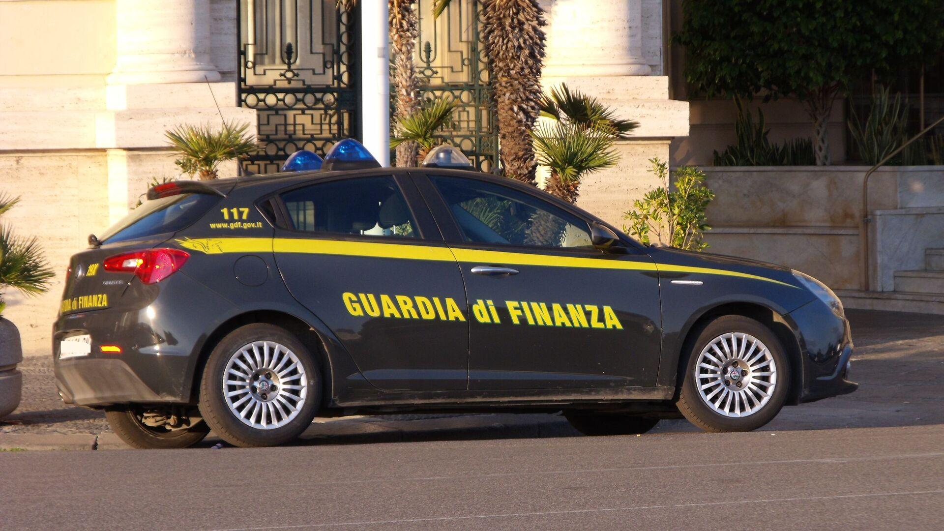 Autovettura guardia di finanza - Sputnik Italia, 1920, 08.03.2021
