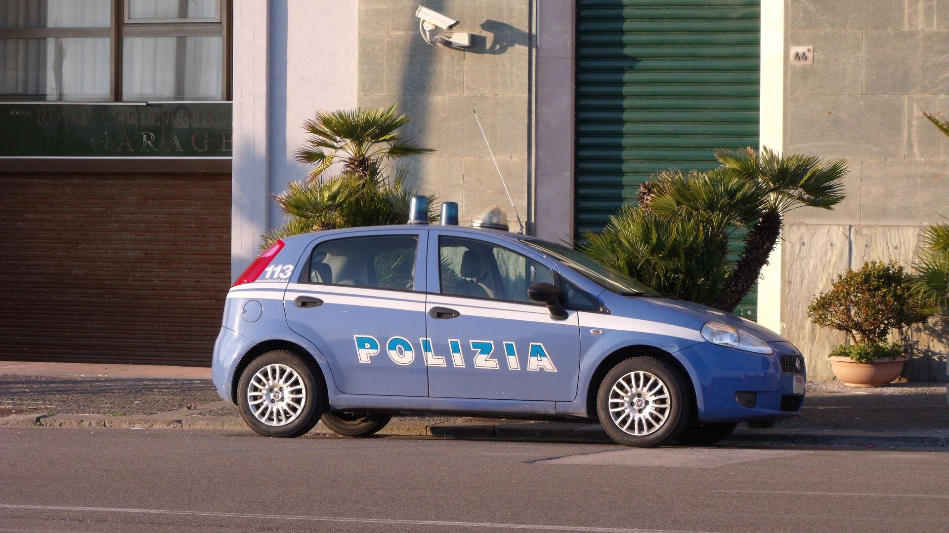 Auto della polizia di stato - Sputnik Italia, 1920, 15.07.2021