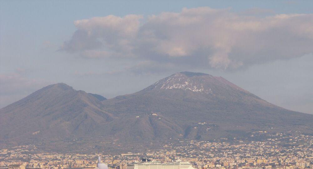 Golfo di Napoli e Vesuvio