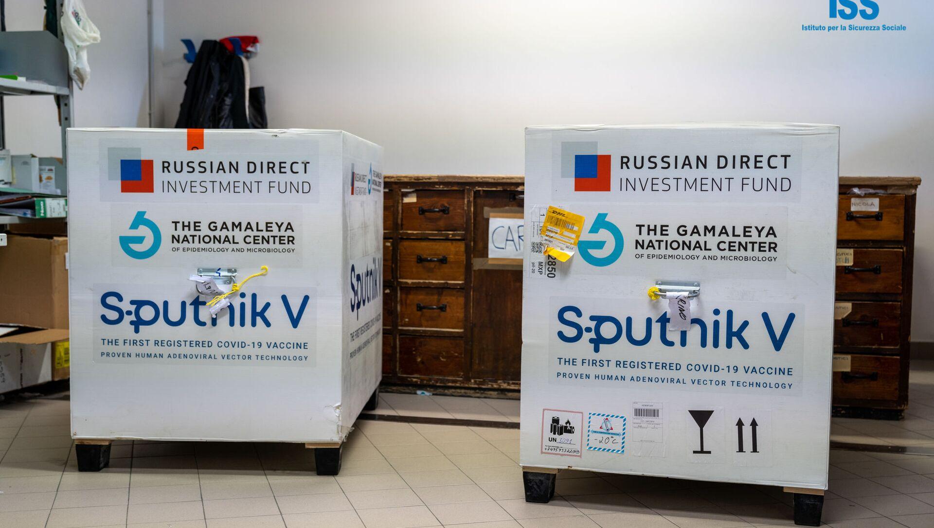 Prime dosi di Sputnik V arrivano a San Marino - Sputnik Italia, 1920, 26.03.2021