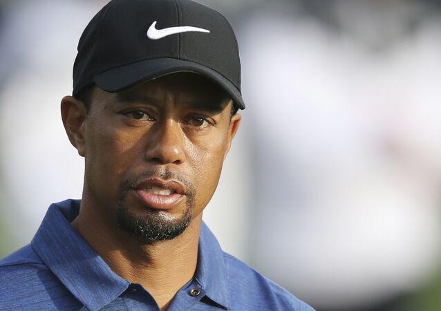 Tiger Woods (foto d'archivio)