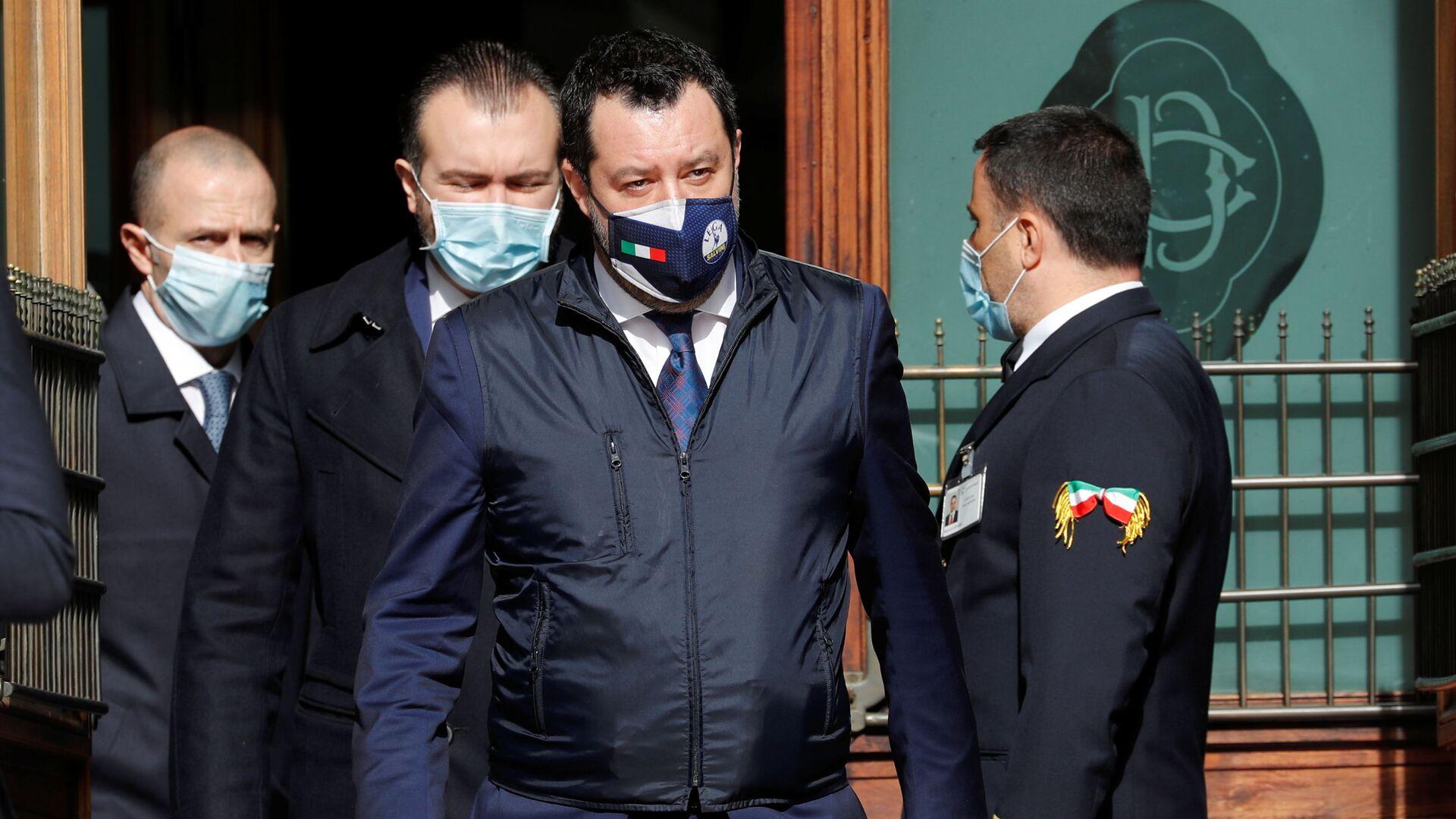 Matteo Salvini - Sputnik Italia, 1920, 24.02.2021