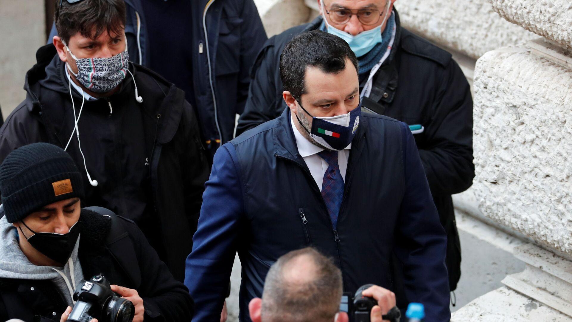 Matteo Salvini - Sputnik Italia, 1920, 25.02.2021