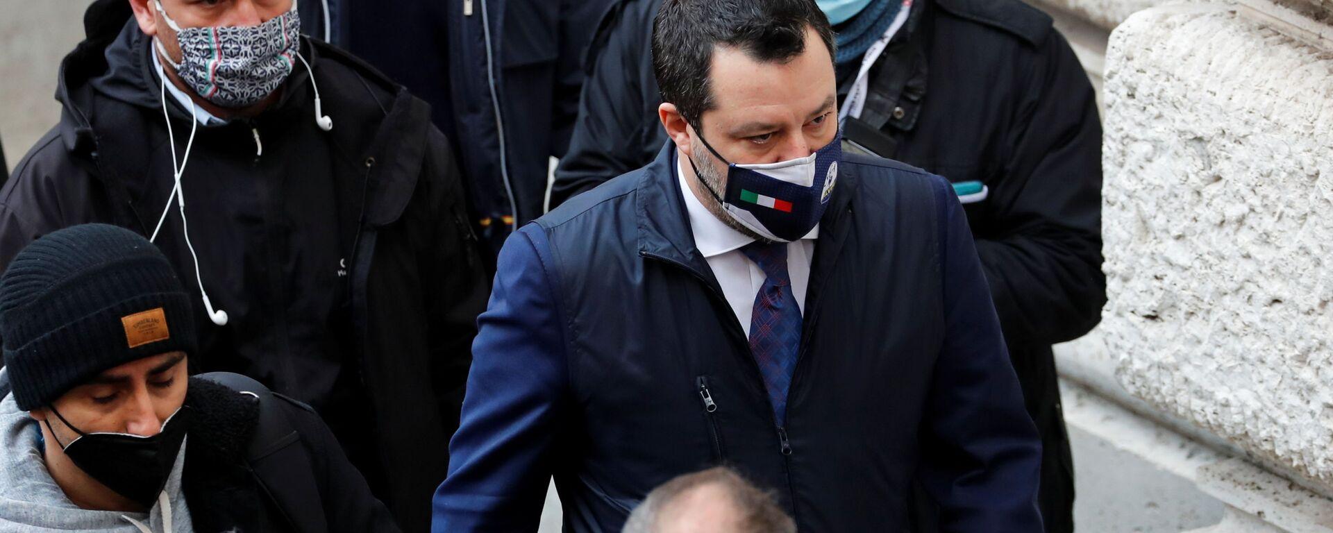 Matteo Salvini - Sputnik Italia, 1920, 08.04.2021