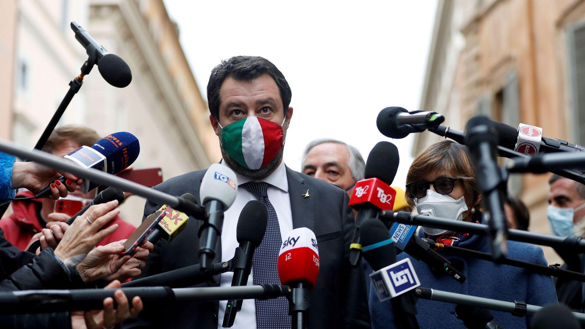 Matteo Salvini  - Sputnik Italia, 1920, 09.03.2021