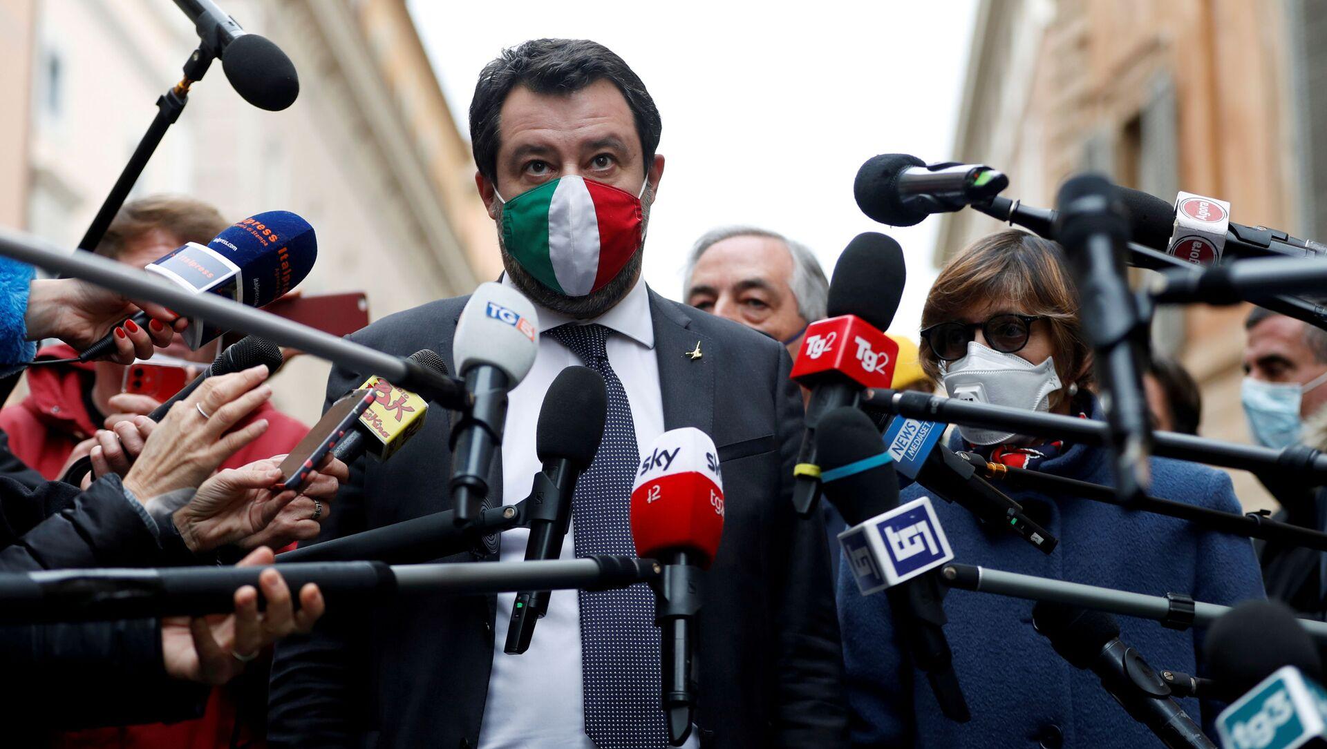 Matteo Salvini  - Sputnik Italia, 1920, 17.04.2021