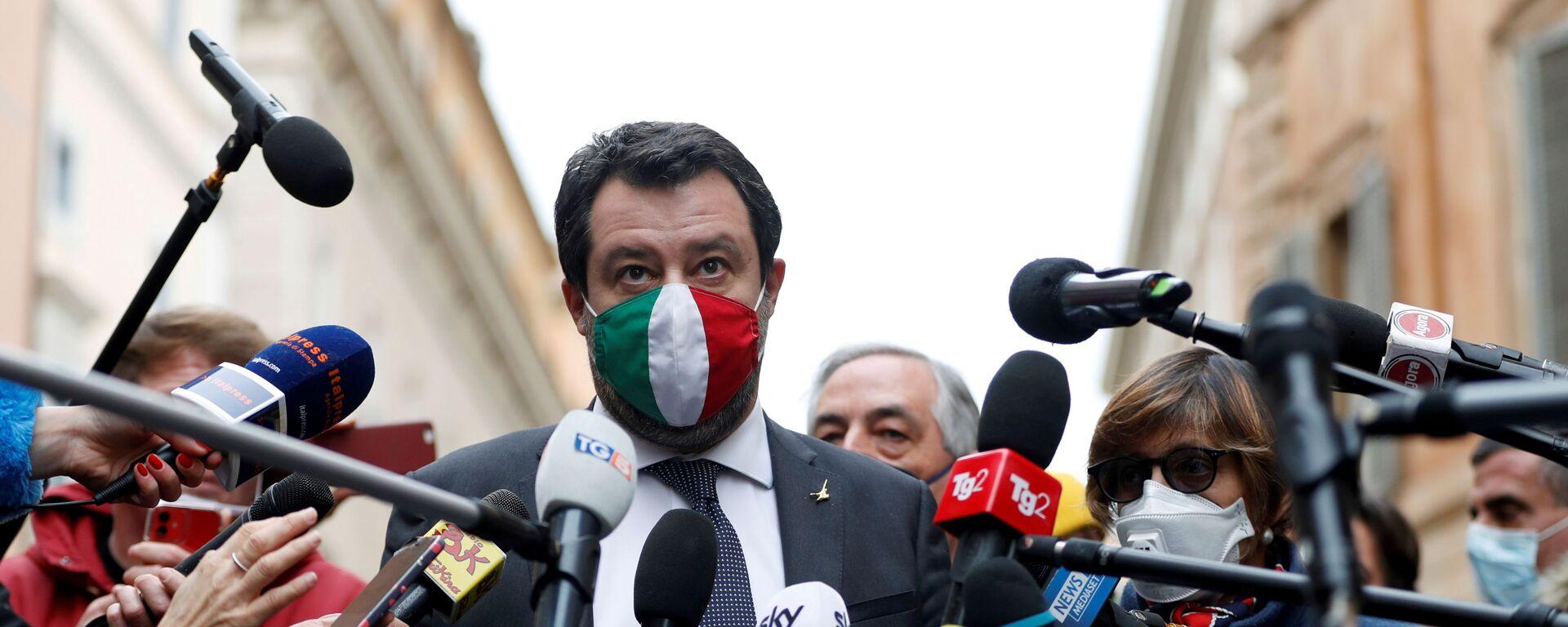 Matteo Salvini  - Sputnik Italia, 1920, 11.06.2021