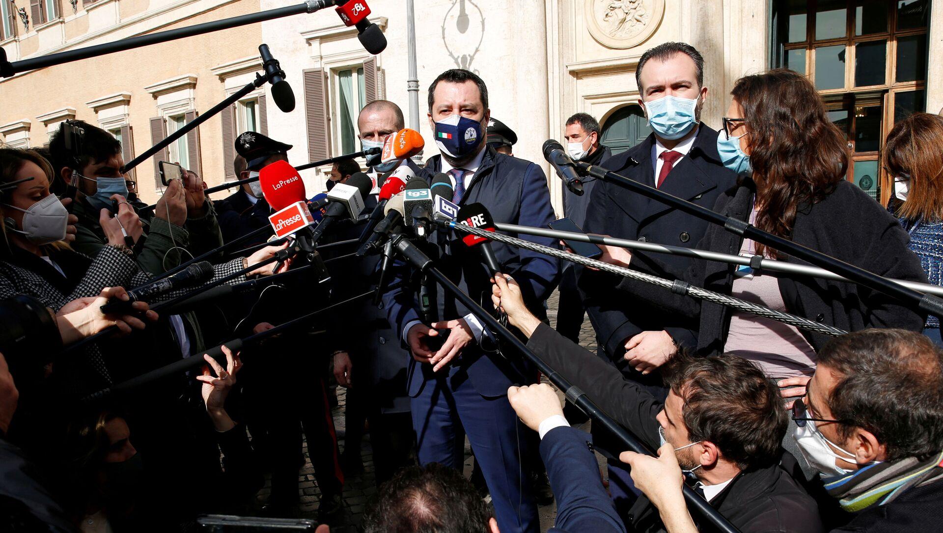 Matteo Salvini  - Sputnik Italia, 1920, 19.03.2021