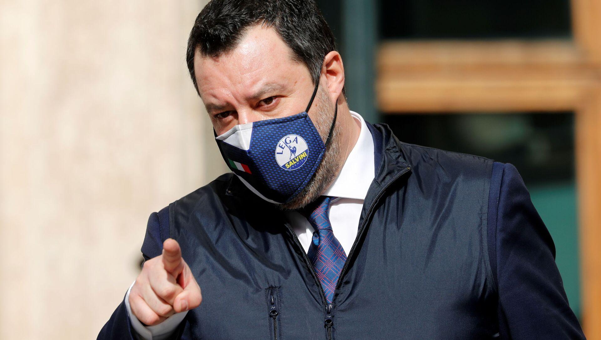 Matteo Salvini  - Sputnik Italia, 1920, 10.04.2021