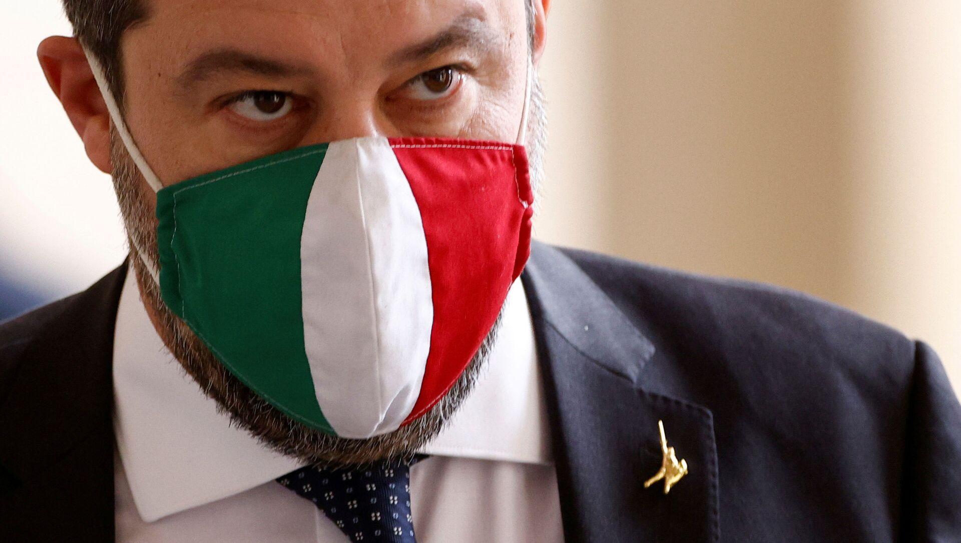 Matteo Salvini  - Sputnik Italia, 1920, 13.04.2021