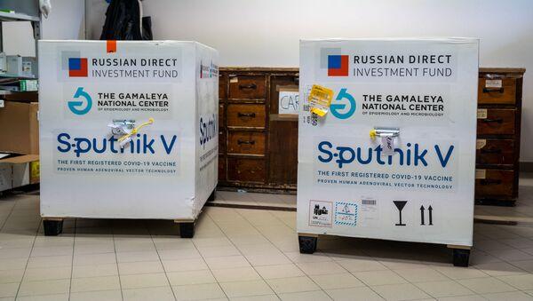 La prima fornitura del vaccino russo Sputnik V a San Marino - Sputnik Italia