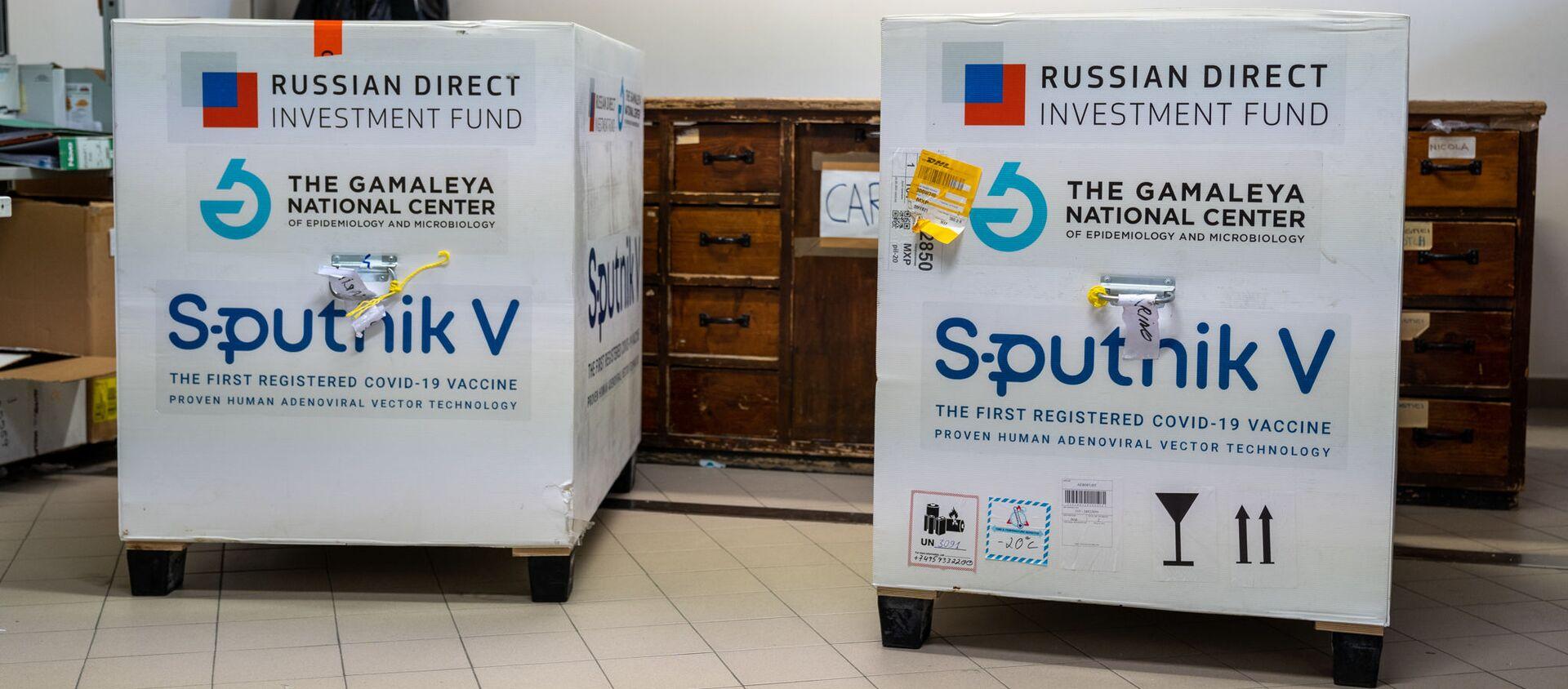 La prima fornitura del vaccino russo Sputnik V a San Marino - Sputnik Italia, 1920, 07.04.2021