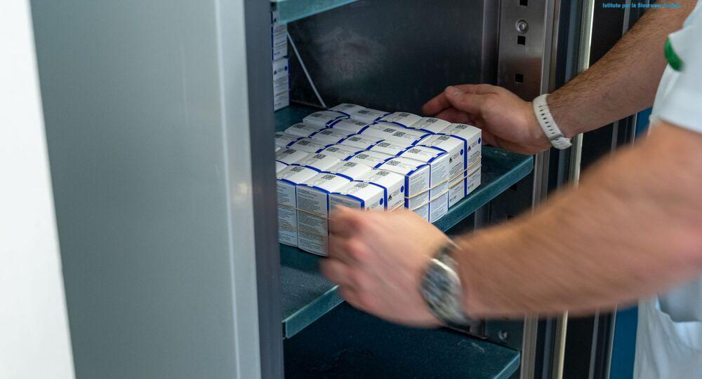Il vaccino russo Sputnik V è nell'Ospedale di Stato a San Marino