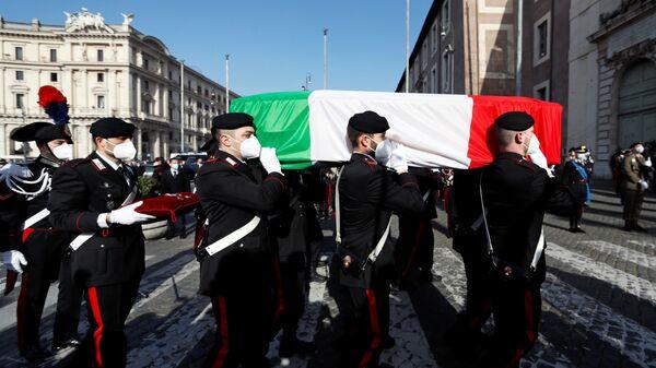 Funerali dell'ambasciatore italiano Luca Attanasio a Roma - Sputnik Italia
