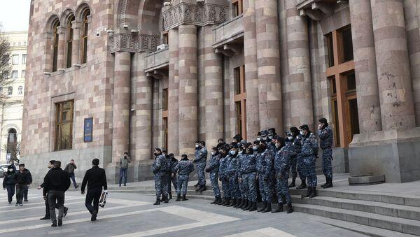 Proteste a Yerevan - Sputnik Italia