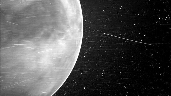 Un'immagine di Venere, fatta dallo Wispr della sonda solare Parker della NASA nel luglio 2020 - Sputnik Italia