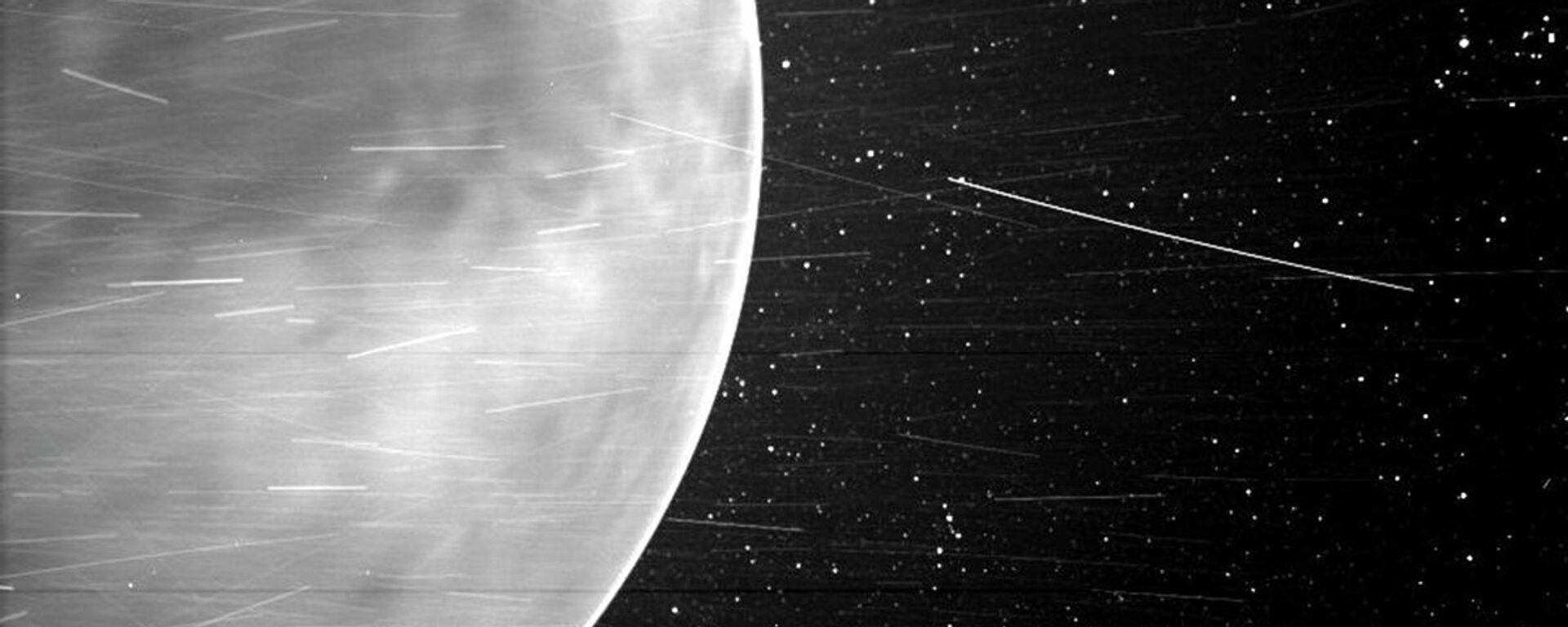 Un'immagine di Venere, fatta dallo Wispr della sonda solare Parker della NASA nel luglio 2020 - Sputnik Italia, 1920, 14.04.2021
