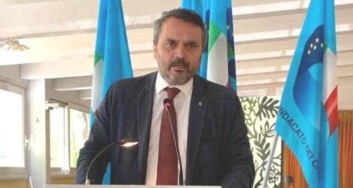Vittorio Costantini, segretario nazionale del sindacato di Polizia USIP