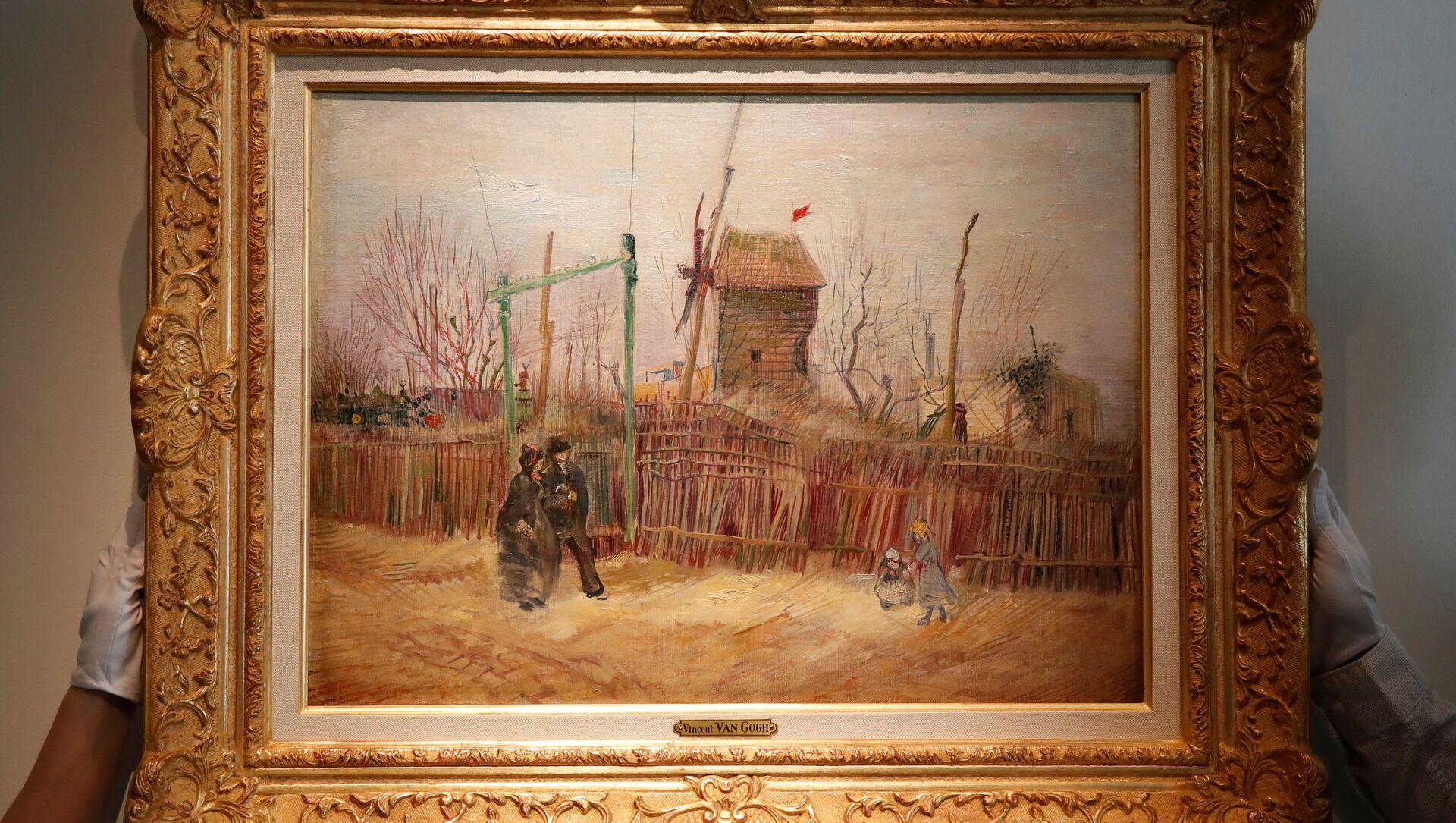 Pittura, un Van Gogh in mostra per la prima volta dopo 100 anni - Foto - Sputnik Italia, 1920, 25.02.2021