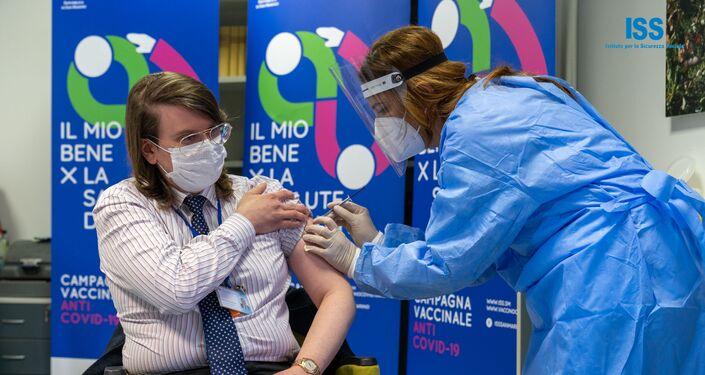 San Marino, Primi vaccinati