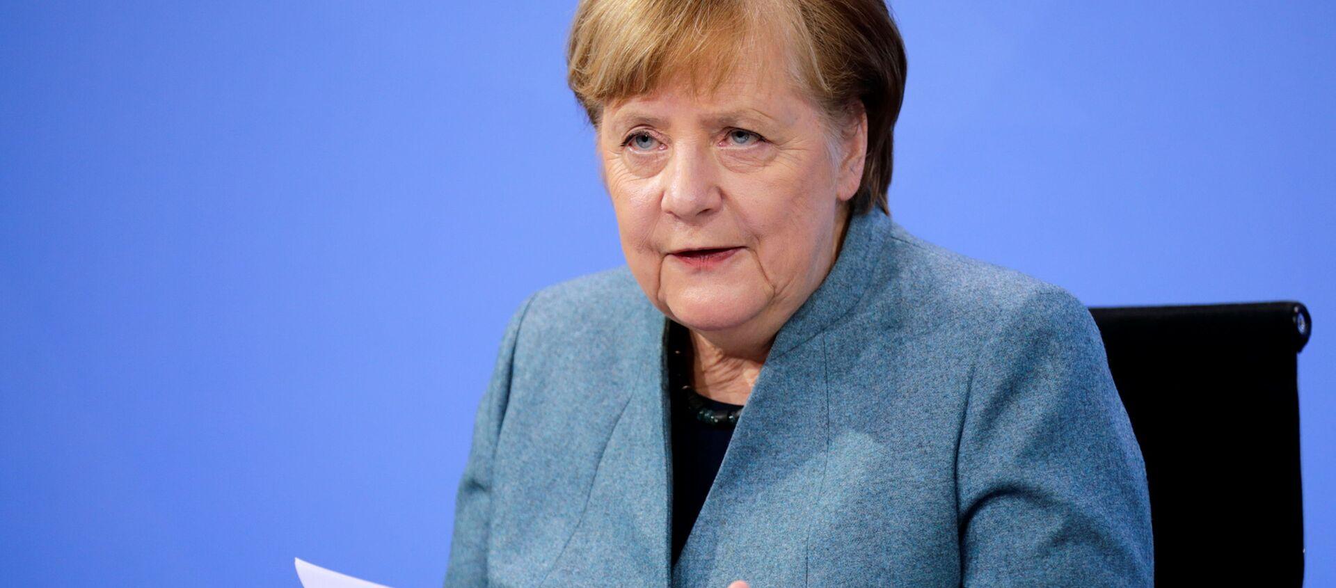 Angela Merkel - Sputnik Italia, 1920, 25.02.2021