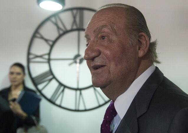 Il re emerito di Spagna Juan Carlos I