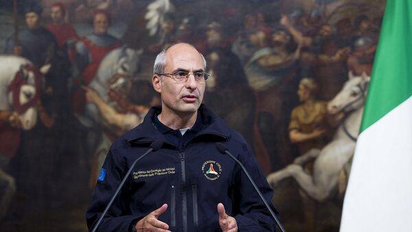 Fabrizio Curcio, nuovo capo del Dipartimento della Protezione Civile - Sputnik Italia