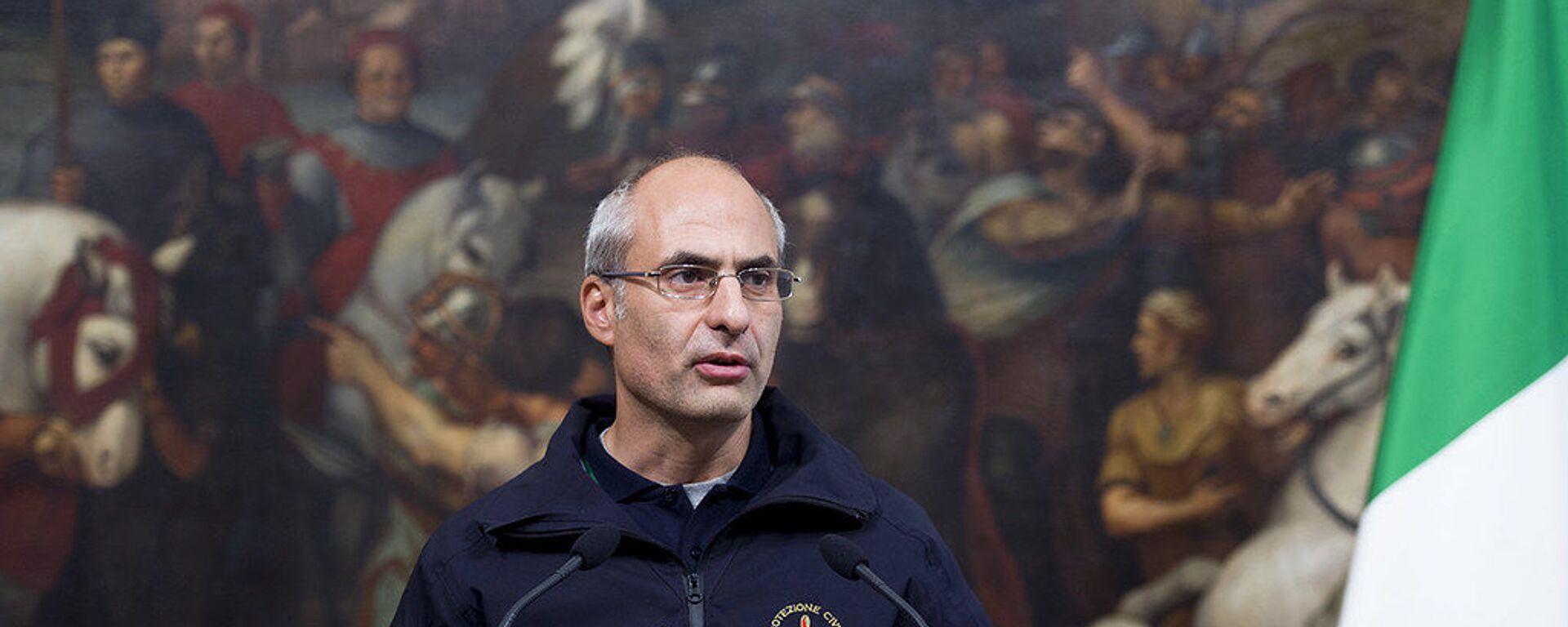 Fabrizio Curcio, nuovo capo del Dipartimento della Protezione Civile - Sputnik Italia, 1920, 13.04.2021