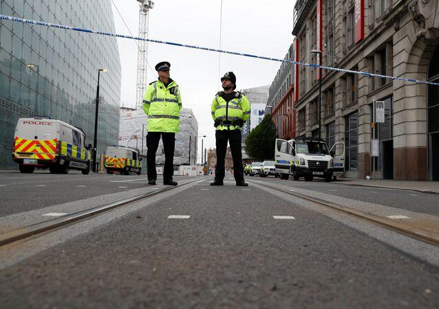 Polizia in Gran Bretagna