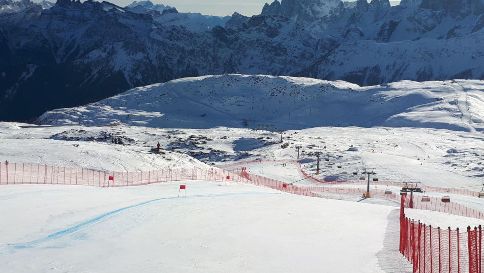 Sci alpino, Federica Brignone vince il super gigante in Val di Fassa - Sputnik Italia, 1920, 28.02.2021