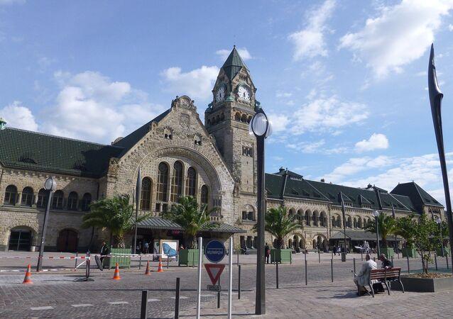 Metz, capoluogo della Mosella, Francia