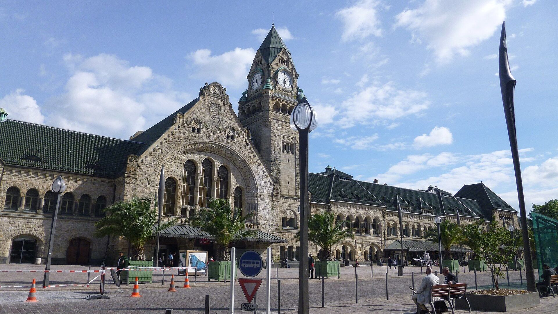 Metz, capoluogo della Mosella, Francia - Sputnik Italia, 1920, 09.08.2021