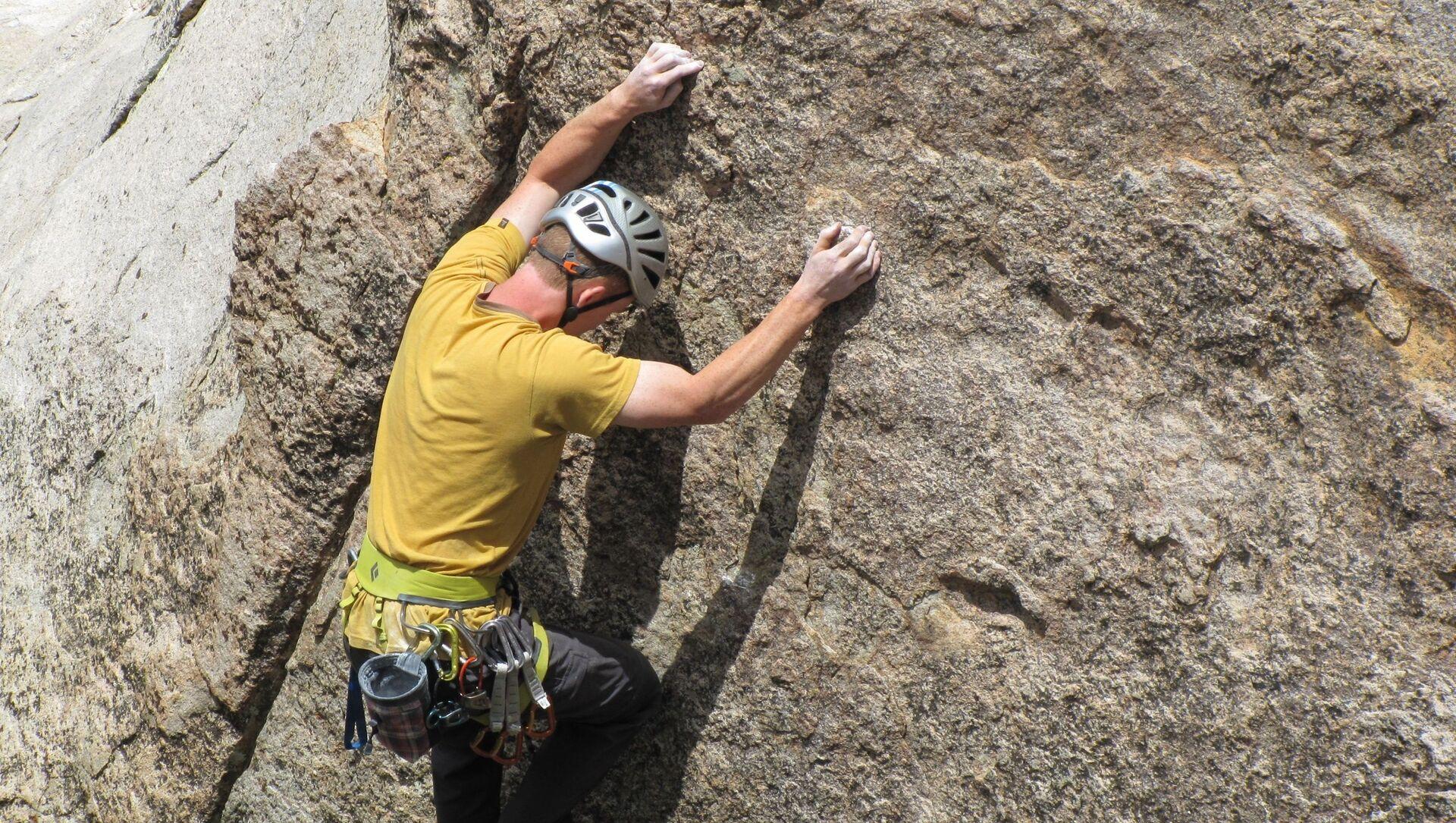 Freeclimbing, arrampicata, parete rocciosa - Sputnik Italia, 1920, 28.02.2021