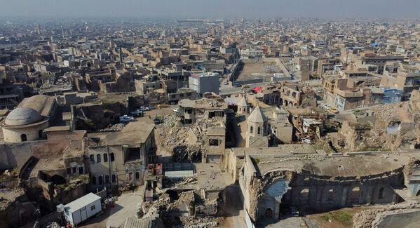 La vista di Mosul che è stato distrutto durante l'occupazione dell'Isis - Sputnik Italia