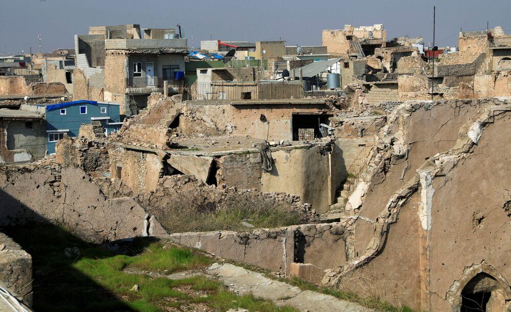 Mosul è una città che è stata distrutta durante l'occupazione dell'Isis