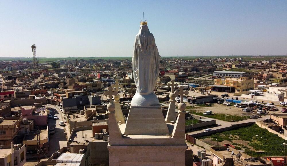 La chiesa cattolica sira a Ninive, una delle più famose città antiche