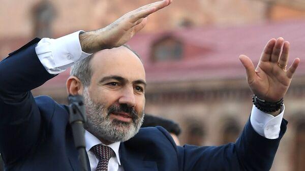 Il primo ministro Nikol Pashinyan - Sputnik Italia