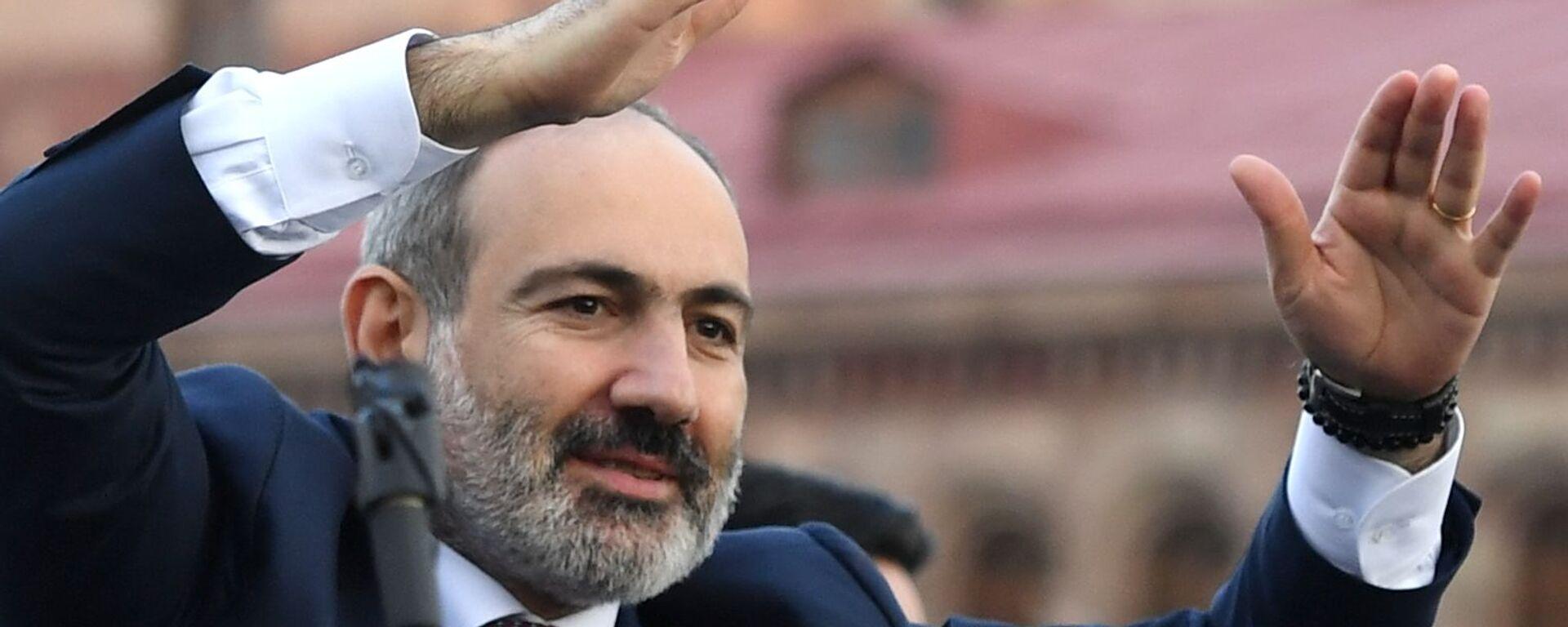 Il primo ministro Nikol Pashinyan - Sputnik Italia, 1920, 21.06.2021