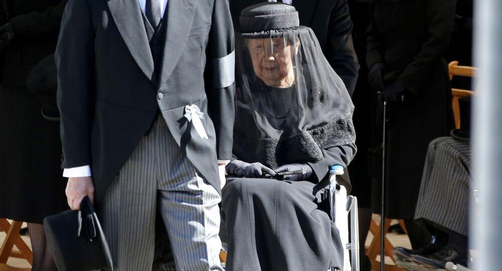 La prozia dell'imperatore giapponese Naruhito, la principessa Yuriko di 97 anni