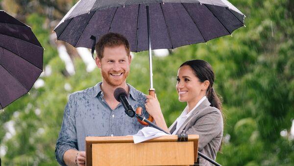 Il principe Harry e Meghan Markle a Dubbo. - Sputnik Italia