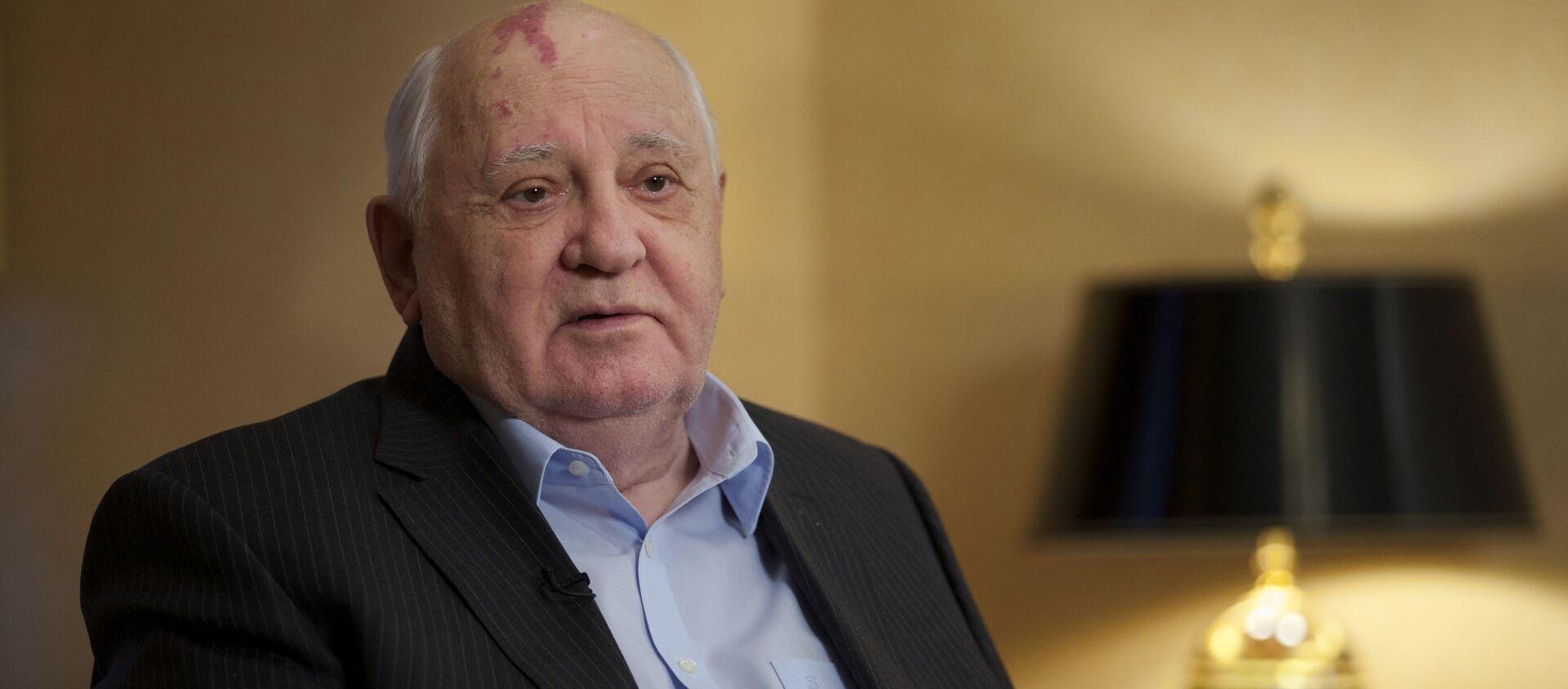 Mikhail Gorbachev nella residenza della sua fondazione a Mosca - Sputnik Italia, 1920, 02.03.2021