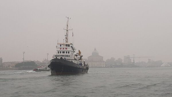 La nave Mar Jonio - Sputnik Italia